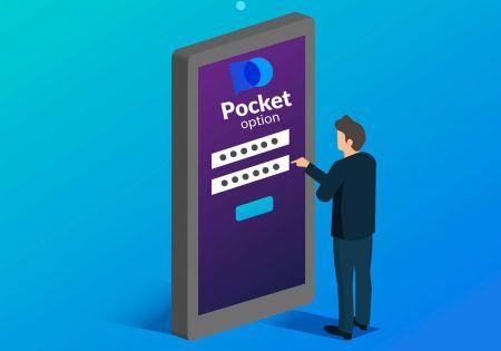 Cách mở tài khoản giao dịch trong Pocket Option