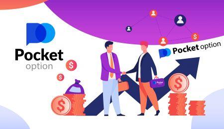 Cách tham gia Chương trình liên kết và trở thành Đối tác trong Pocket Option
