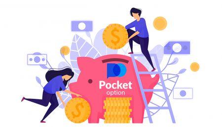 Cách Rút và Gửi tiền trong Pocket Option